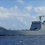 Tàu chiến Trung Quốc gia tăng vây ép tàu dân sự Việt Nam