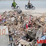 Ngỡ ngàng tuyến đường hàng nghìn tỷ đồng biến thành bãi rác thải khổng lồ