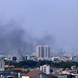 Cháy xưởng nhựa rộng 200m2 ở Sài Gòn