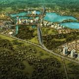 Gần 750 tỷ làm 2,6km đường nối đê sông Hồng với một khu đô thị mới