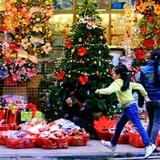 Cuối tuần hòa cùng không khí Giáng sinh khắp ba miền