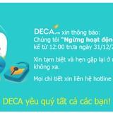Vì sao Deca.vn đóng cửa?