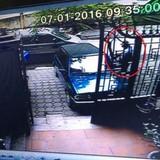 """""""Cướp xe chở 400 lượng vàng"""": Camera ghi được hình nghi phạm"""