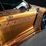 Siêu xe dát vàng độc nhất vô nhị trên thế giới