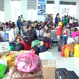 Dùng tàu cảnh sát biển đưa khách về Lý Sơn đón Tết