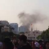 Cháy tại trung tâm Sài Gòn vào ngày mùng một Tết Bính Thân