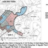 Mở rộng và chia trung tâm TP.HCM thành 5 phân khu