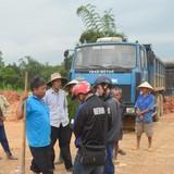Tuyến cao tốc Đà Nẵng - Quảng Ngãi lại bị dân phản ứng