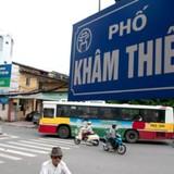 Hà Nội sẽ thiết kế lại đô thị hai bên tuyến phố Khâm Thiên