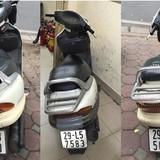 Cảnh sát giao thông Hà Nội bắt giữ nhiều xe Spacy làm giả số khung, giấy tờ