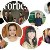 """7 gương mặt trẻ của Việt Nam lọt top """"Forbes Under 30"""" châu Á"""