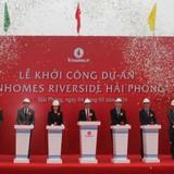 Vingroup khởi công Khu đô thị phức hợp Vinhomes Riverside Hải Phòng
