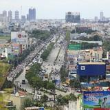 Giá thuê mặt bằng phía Tây Sài Gòn chỉ bằng 30% khu trung tâm