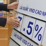 Ngân hàng lớn đồng loạt tăng lãi suất