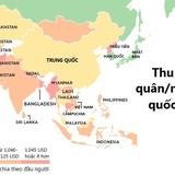 [Infographic] Bản đồ các quốc gia giàu và nghèo nhất thế giới