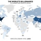 [Infographic] Top 50 tỷ phú giàu nhất thế giới, bạn biết gì về họ?