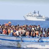Chìm tàu chở người di cư từ Libya, gần 500 người thiệt mạng