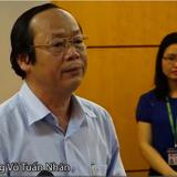 [Video] Thứ trưởng Võ Tuấn Nhân công bố nguyên nhân cá chết hàng loạt