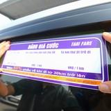 Giá cước taxi chuẩn bị tăng giá sau 5 lần tăng giá xăng