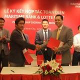 Maritime Bank là ngân hàng Việt đầu tiên cung cấp giải pháp tài chính toàn diện cho Lotte Mart