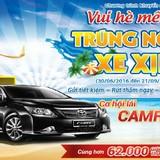 Cơ hội lái Toyota Camry 2.5G về nhà cùng Nam A Bank