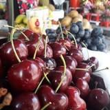 Cherry Mỹ nhập khẩu phơi cả ngày dưới trời nắng vẫn tươi