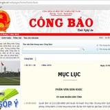 Phó Thủ tướng Vũ Đức Đam yêu cầu làm rõ thông tin nhiều website .gov.vn bị cài link ẩn