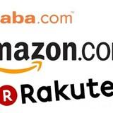 """Rakuten, Alibaba và Amazon - """"Cuộc chiến giữa các vì sao"""""""