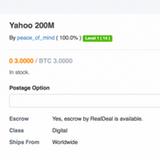 200 triệu tài khoản người dùng Yahoo! bị tin tặc rao bán