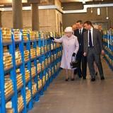 5.000 tấn vàng bên trong hầm chứa của Ngân hàng Anh