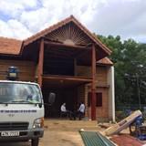 Tháo dỡ công trình xây dựng trái phép của đại tá công an