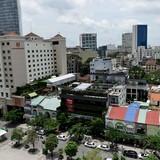 [Ảnh] Khu đất vàng của đại gia Trương Mỹ Lan ở phố đi bộ Sài Gòn