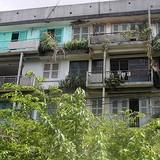 U ám… chung cư bỏ hoang