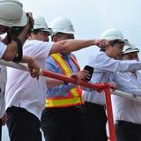 Chủ tịch UBND TP.HCM thị sát công trình chống ngập 10 nghìn tỷ đồng