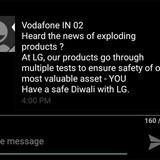 LG chế giễu Samsung sau sự cố cháy nổ