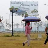 Công nhân Samsung Việt Nam: Chúng tôi không thất nghiệp vì Note 7
