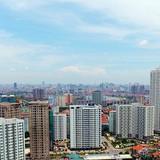 Hà Nội đang dày đặc nhà cao tầng