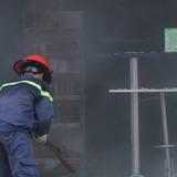 Siêu thị mini ở Sài Gòn bốc cháy, nhiều người hốt hoảng
