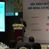 """HDBank đồng hành cùng Hội thảo quốc tế """"Tài trợ chuỗi"""" do Ngân hàng Thế giới tổ chức"""