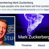 Mark Zuckerberg bị Facebook tuyên bố đã chết