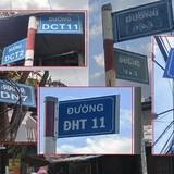 Toát mồ hôi với những tên đường kỳ lạ ở Sài Gòn