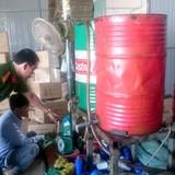 Đồng Nai: Phát hiện cơ sở sản xuất dầu nhớt giả thương hiệu nổi tiếng