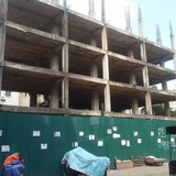Dự án trung tâm thương mại Trương Định: 7 năm mới xây xong 4 tầng