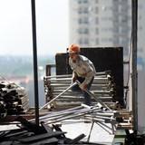 Cảnh báo tai nạn tại công trình xây dựng cao tầng
