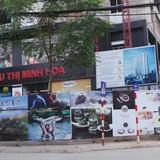 """Cao ốc chưa xây xong đã cho thuê """"tùm lum"""" ở Thái Hà"""