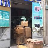 Thu giữ hàng trăm thùng linh kiện điện tử lậu, xuất xứ Trung Quốc