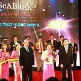 """SeABank được vinh danh """"doanh nghiệp hội nhập và phát triển 2016"""""""
