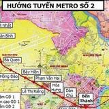 TPHCM thu hồi đất ở 6 quận cho tuyến metro Bến Thành - Tham Lương