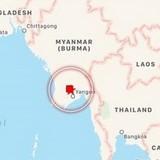 Động đất mạnh 5,8 độ Richter ở Myanmar, 38 người thương vong