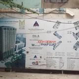 Chung cư Mỹ Sơn xây vượt tầng: Âm thầm thi công bất chấp lệnh cấm